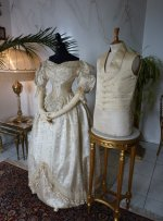 4 antique wedding ensemble 1835