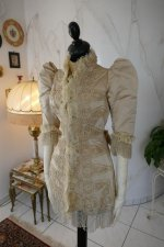 2 antique silk jacket 1895