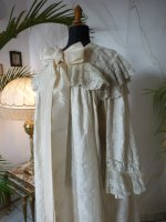 7 antique Peignoir 1895