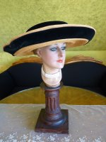 9a antique hat 1912 Cameron Titanic