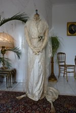 3 antique wedding gown