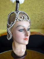 31 antique headpiece 1920