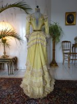 25 antique dress 1899