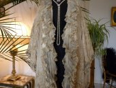 7 antique opera coat