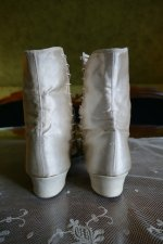 13 antique wedding Boots 1860