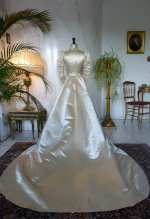 13 antique ROUFF Wedding Dress 1896
