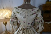 32 antique court dress 1838
