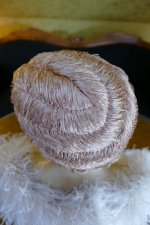 24 antique hair cloche 1920