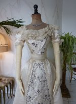 9 antique Ball gown 1890