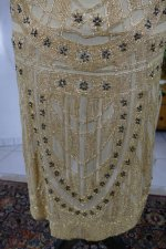 27 antique beaded flapper evening dress 1922
