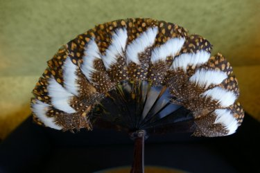antique folding fan 1890