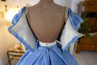 51 antique ball gown 1864