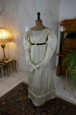 2 antique empire dress 1815