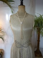 1 antique wedding dress 1927