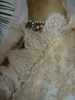 18a antique bridal gown