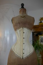 2 antique PD Marcel corset 1900