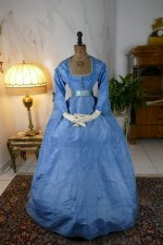 2 antique ball gown 1864
