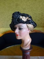 4 antique Jean Patou Hat 1920