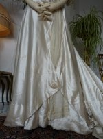 8 antique edwardian wedding dress 1909