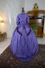 14 antique crinoline dress 1860
