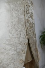37 antique rococo wedding coat 1740