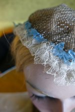 4 antique bonnet 1860