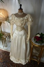 3 antique ball gown 1892