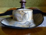 106 antique lampshade hat 1912