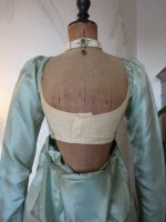41 antique silk dress 1800