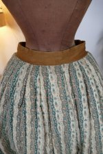 13 antique Biedermeier petticoat 1830