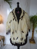 7 antique ermine cape