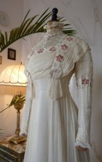 5 antique wedding dress 1910