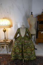2 antique childs court dress 1760
