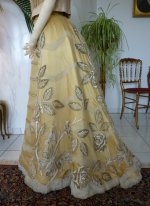 27 antique ball gown 1889