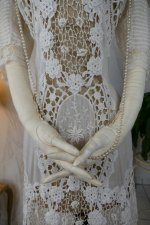 11 antique irish crochet dress 1904