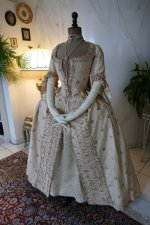 18 antique robe a la Francaise 1770