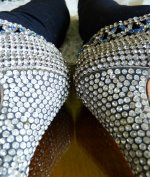 24 antique rhinestone shoes 1920