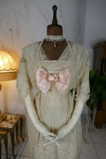 2 antique dress Havet Agnes 1912
