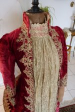 16 antique dress gown
