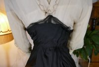29 antique evening gown Nelmarie 1913