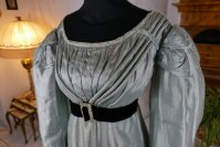 3 antique regency dress 1818