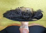 16 antique lampshade hat 1912