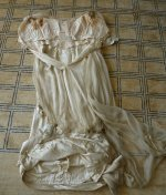 29 antique WORTH Evening Gown 1906