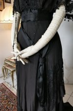 8 antique Drecoll dress 1906