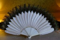 8 antique feather fan 1915