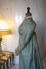 19 antique silk dress 1800