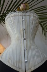 5 antique bridal corset