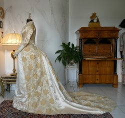 14 antique court dress 188
