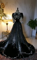 43 antique Gustave Beer gown 1906