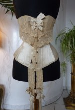 4 antique victorian corset 1895